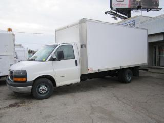 Used 2013 GMC Savana 3500 16 ft diesel high roof cert for sale in North York, ON