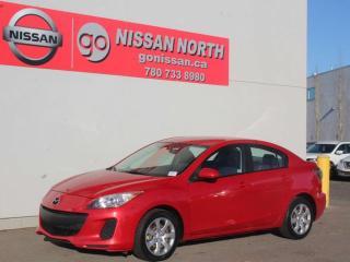 Used 2013 Mazda MAZDA3 GX/LOW KM for sale in Edmonton, AB