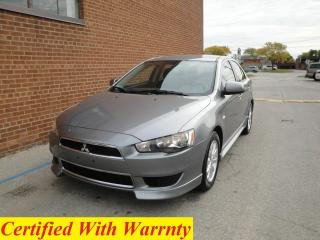 Used 2012 Mitsubishi Lancer Sportback NO ACCIDENT, SAFTY AND WARRANTY for sale in Oakville, ON