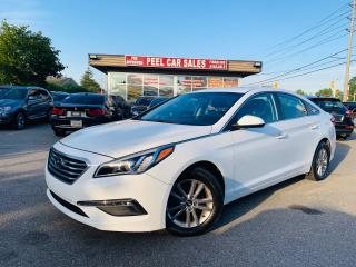 Used 2016 Hyundai Sonata 2.4L GL|ALLOYS|REARVIEW|BLUETOOTH|CERTIFIED & MORE for sale in Mississauga, ON