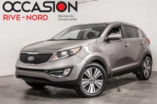 Used 2015 Kia Sportage LUXURY AWD - GAR 1 AN for sale in Boisbriand, QC