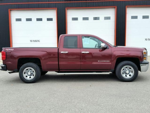 2014 Chevrolet Silverado 1500 4x4 Double Cab Short Box
