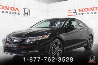 Used 2016 Honda Accord Touring I4 2 portes BM for sale in St-Basile-le-Grand, QC