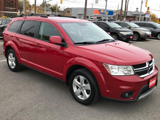 2012 Dodge Journey SXT ** 7 PASS, BACKUP CAM, AUTOSTART , CRUISE **