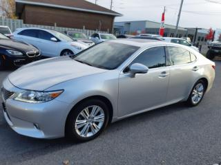 Used 2013 Lexus ES 350 FACTORY WARRANTY, ACCIDENT FREE, BLUETOOTH. for sale in Ottawa, ON