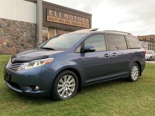 Used 2017 Toyota Sienna LIMITED NAVI PANO ROOF REAR CAMERA BLIS TV-DVD for sale in North York, ON