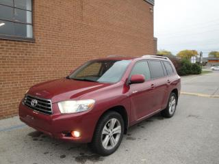 Used 2008 Toyota Highlander 7 Passenger, leather , Sunroof, Sport for sale in Oakville, ON
