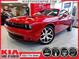 Used 2016 Dodge Challenger SXT Plus ** TOIT OUVRANT / CUIR for sale in St-Hyacinthe, QC