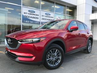 Used 2018 Mazda CX-5 GS AWD A L ETAT NEUF CUIR SUEDE TOIT GPS for sale in St-Georges, QC