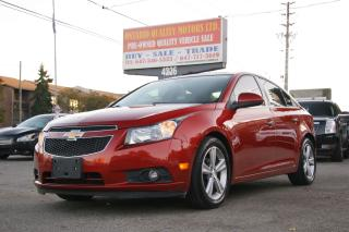Used 2012 Chevrolet Cruze LTZ Turbo w/1SA leatehr,sunroof!!! for sale in Toronto, ON