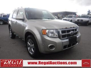 Used 2011 Ford ESCAPE  4D UTILITY V6 4WD for sale in Calgary, AB