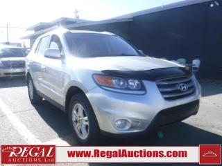 Used 2012 Hyundai Santa Fe GL 4D Utility 4WD for sale in Calgary, AB