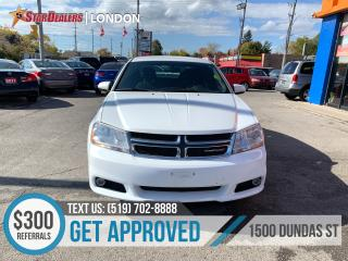 Used 2014 Dodge Avenger for sale in London, ON