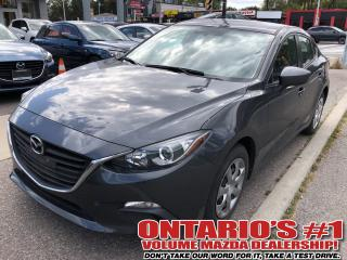 Used 2015 Mazda MAZDA3 GX,ONE OWNER,ONLY 35,912 KM !!! for sale in Toronto, ON
