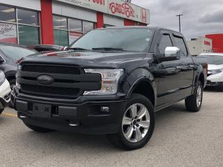 Used 2018 Ford F-150 PLatinum, one owner, low mileage for sale in Toronto, ON