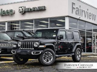 Used 2020 Jeep Wrangler Unlimited Sahara for sale in Burlington, ON