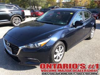 Used 2017 Mazda MAZDA3 GX,BACKUP CAM,ONE OWNER for sale in Toronto, ON