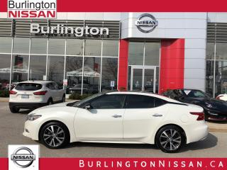 Used 2017 Nissan Maxima PLATINUM, ACCIDENT FREE, 1 OWNER, 35,000 KM'S ! for sale in Burlington, ON