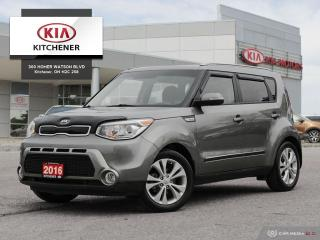 Used 2016 Kia Soul EX + CARFAX CLEAN, ONE OWNER for sale in Kitchener, ON