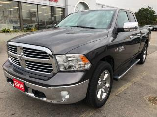 Used 2016 RAM 1500 Big Horn Quad 4x4 V8 w/Remote Start, Backup Cam, H for sale in Hamilton, ON