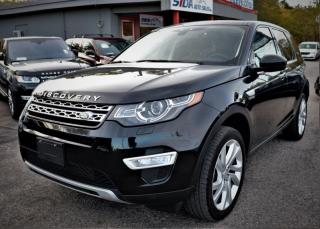 Used 2015 Land Rover Discovery Sport AWD 4dr HSE LUXURY for sale in Richmond Hill, ON