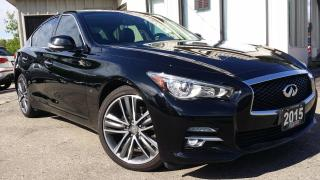 Used 2015 Infiniti Q50 Limited AWD - LEATHER! NAVIGATION! BACK-UP CAM! for sale in Kitchener, ON