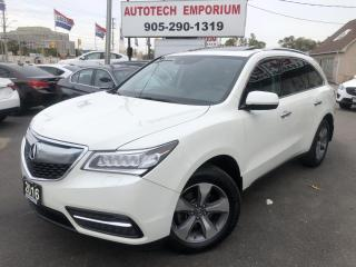 Used 2016 Acura MDX Prl White 7 Pass SH-AWD Leather/Sunroof/Camera&GPS* for sale in Mississauga, ON