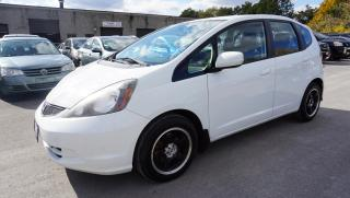 Used 2013 Honda Fit SPORT 5Spd HB CERTIFIED 2YR WARRANTY *1 OWNER* BLUETOOTH CRUISE ALLOYS KEYLESS for sale in Milton, ON