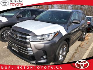 New 2019 Toyota Highlander AWD limited for sale in Burlington, ON