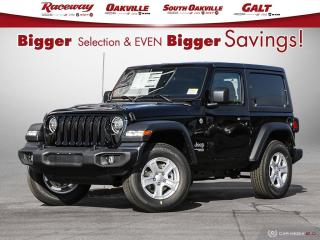 New 2020 Jeep Wrangler SPORT for sale in Etobicoke, ON