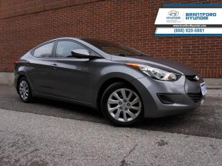 Used 2013 Hyundai Elantra GL  - Local - Trade-in - One owner - $87 B/W for sale in Brantford, ON