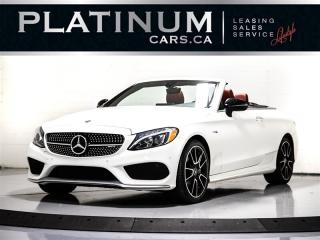 Used 2017 Mercedes-Benz C-Class AMG C43, CONVERTIBLE, NAVI, CAM, BURMESTER, BT for sale in Toronto, ON