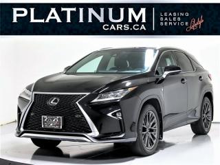 Used 2016 Lexus RX 350 F Sport 3, AWD, NAV, HUD, BLINDSPOT, Camera for sale in Toronto, ON