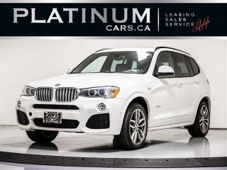 Used 2016 BMW X3 xDrive28i, NAVI, M SPORT, HUD, PANO, PREMIUM for sale in Toronto, ON