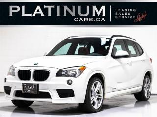 Used 2015 BMW X1 xDrive35i AWD, M-SPORT, PANO, RED LEATHER SEATS for sale in Toronto, ON