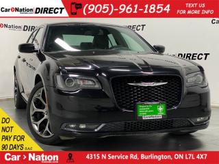Used 2018 Chrysler 300 300S| LEATHER| BACK UP CAM| PUSH START| for sale in Burlington, ON
