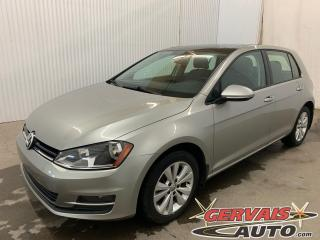 Used 2015 Volkswagen Golf Comfortline Tsi Cuir Toit Ouvrant MAGS Caméra for sale in Shawinigan, QC