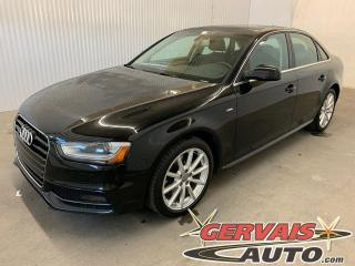 Used 2015 Audi A4 Progressiv plus Quattro Cuir Toit ouvrant GPS MAGS for sale in Shawinigan, QC