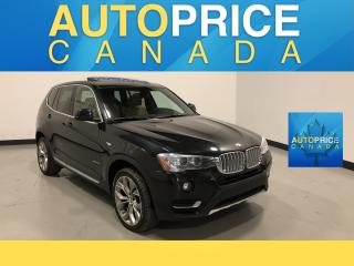 Used 2017 BMW X3 xDrive28i NAVIGATION|PANROOF for sale in Mississauga, ON