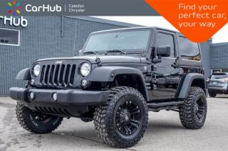 Used 2016 Jeep Wrangler Sport|4x4|Hard Top|AM/FM|Off Road Tire|17 Alloy Rims for sale in Bolton, ON