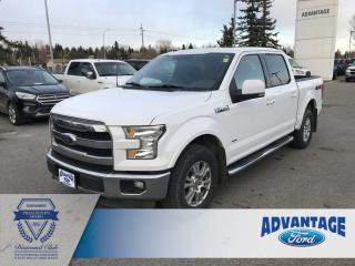 Used 2015 Ford F-150 Lariat Clean Carfax - Voice Activated Navigation - Remote Start for sale in Calgary, AB