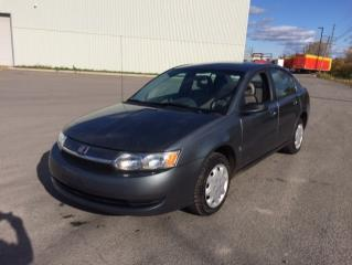 Used 2003 Saturn Ion Berline 4 portes, Ion 1 de base, boîte a for sale in Quebec, QC