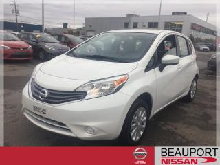 Used 2015 Nissan Versa Note 1.6 S ***22 300 KM + GARANTIE PROLONGÉE* for sale in Beauport, QC