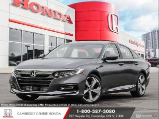 New 2020 Honda Accord Touring 1.5T GPS NAVIGATION | HEAD-UP DISPLAY | REMOTE ENGINE STARTER for sale in Cambridge, ON