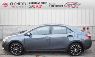 Used 2016 Toyota Corolla S, AUTOMATIQUE, CUIR, TOIT OUVRANT, CERTIFIÉ for sale in Laval, QC