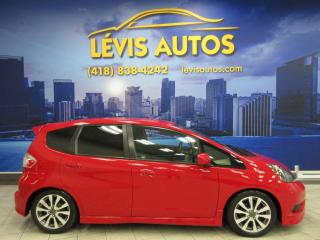 Used 2014 Honda Fit SPORT 5 VITESSE MANUEL BLUETHOOTH SEULEM for sale in Lévis, QC
