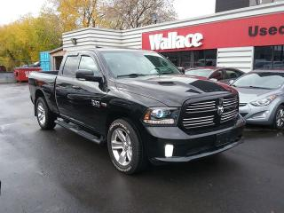 Used 2017 RAM 1500 Sport Quad Cab 4X4 Sunroof Leather Interior for sale in Ottawa, ON