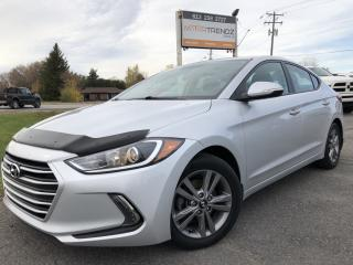 Used 2017 Hyundai Elantra GL Heated Steering and Seats! BlindSpot Detect, BackupCam, Bluetooth, Alloys, Pwr Windows, Cruise, Stee for sale in Kemptville, ON