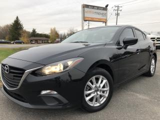 Used 2016 Mazda MAZDA3 GS Nice with NAV! Heated Seats, BackupCam, Bluetooth, Steering Wheel Controls and Alloys! for sale in Kemptville, ON