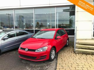 Used 2015 Volkswagen Golf RÉSERVÉ Auto Trendline 1.8 TSI + Bluetooth, Mag for sale in Québec, QC